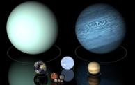 Planet benda langit yang mempunyai ciri khusus sebagai bagian dari tata surya