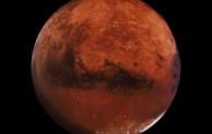 Planet Mars atau panet merah yang menyerupai bumi