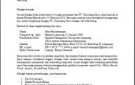 Surat Lamaran Kerja Penting Untuk Para Pelamar Kerja