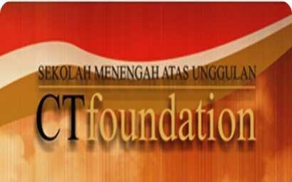Beasiswa 2013 SMA Unggulan Chairul Tanjung Foundation