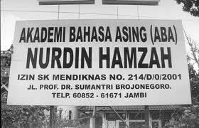 Akademi Bahasa Asing Nurdin Hamzah