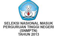 Cara Pendaftaran SNMPTN 2013
