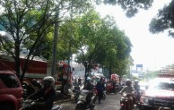 Kebakaran di gandaria city erah padat penduduk