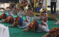Tari Kenui Hiburan Masyarakat Lampung