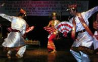 Tari Melinting dari Lampung