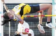Pengertian Olahraga Lompat Tinggi Gaya Guling Perut