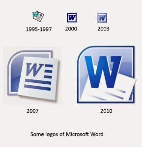 Sejarah dan Pengertian Microsoft Word - Sejarah Logo