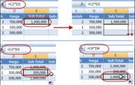 Kumpulan Rumus dalam Ms. Excel