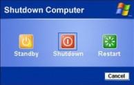 Shut Down Sistem