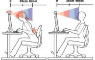 Memperhatikan kesehatan mata dalam menggunakan komputer