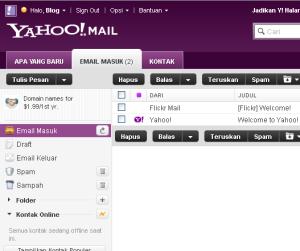 Email Yahoo Tampilan Baru