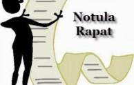 Perbedaan notula resume dengan notula verbatim