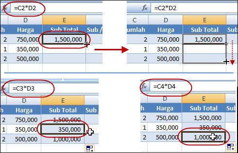 Kumpulan Rumus dalam Ms. Excel - ujiansma.com